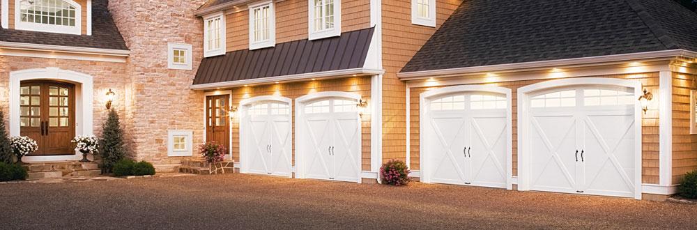 Clopay puertas de garaje para residencias for Garajes modelos
